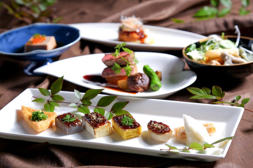 高森の食材をふんだんに盛り込んだ料理イメージ