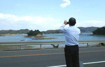 臼杵シェフお気に入りの景観スポットにも立ち寄りました