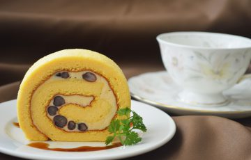 伝統的な熊本の野菜【春日ぼうぶら】をロールケーキでたっぷり味わう