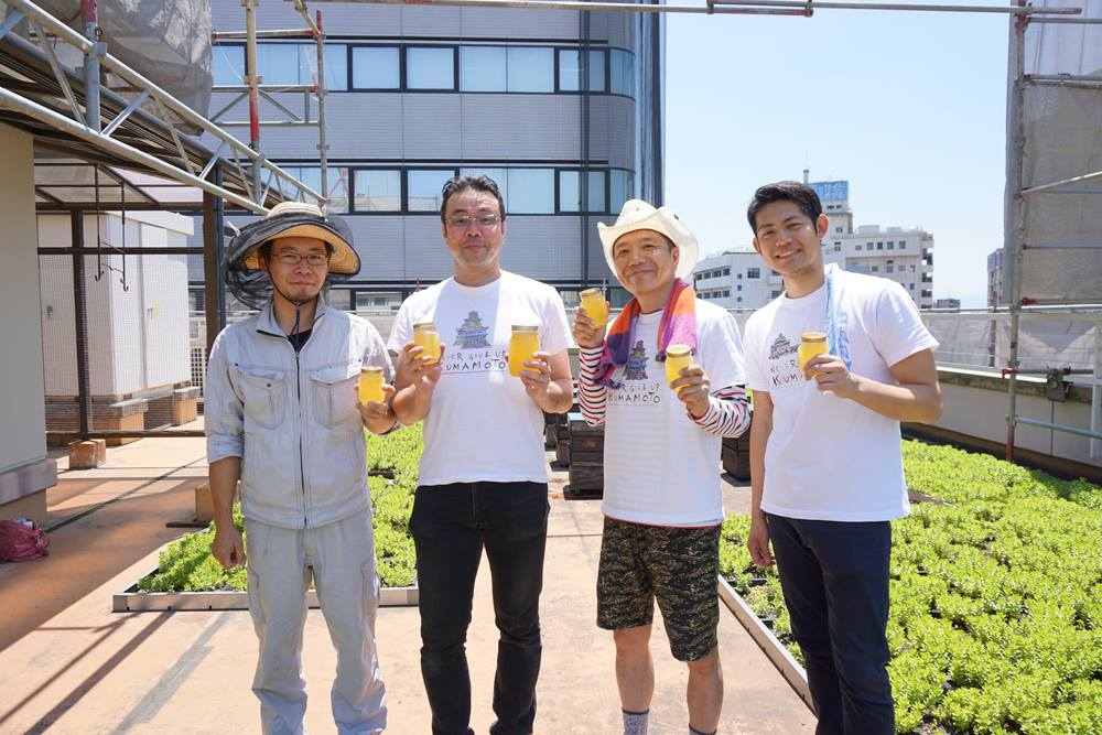熊本ハニープロジェクトのメンバー