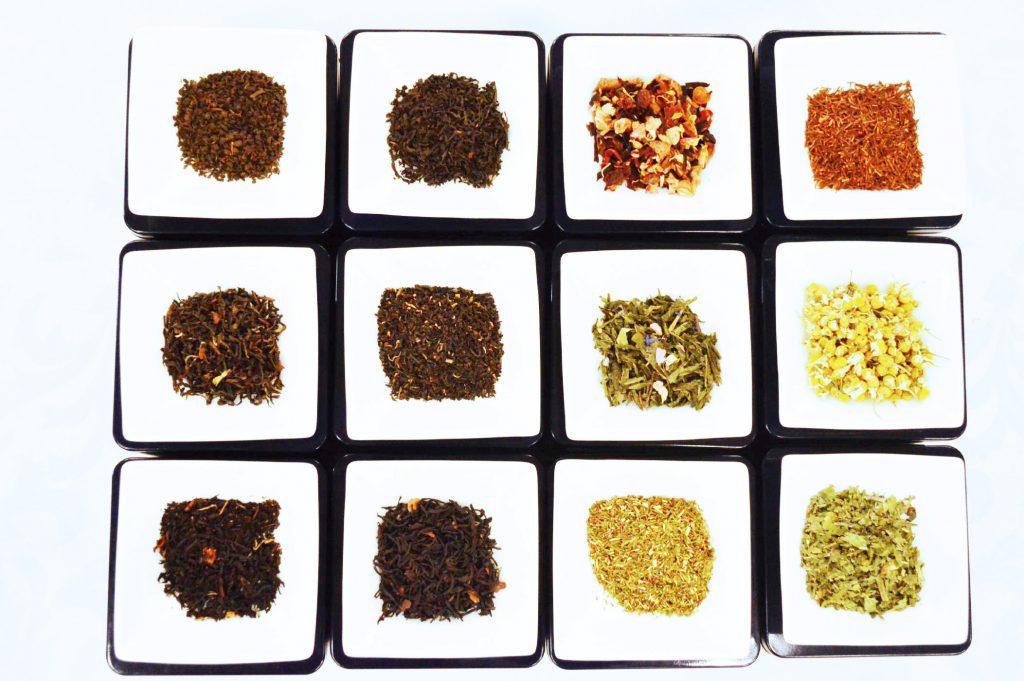 茶葉もそれぞれ個性的