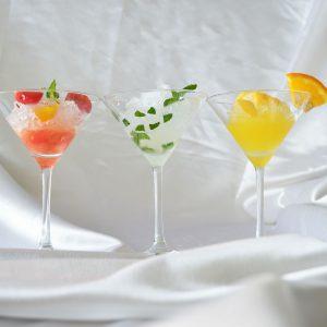 square_かき氷カクテル仕立て3種