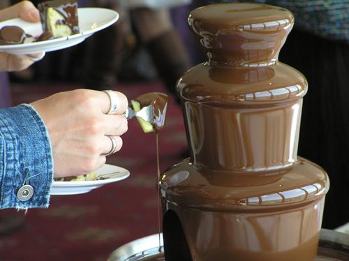 とろーリとろけるチョコレートファウンテン