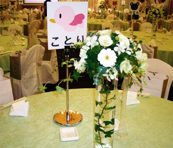 かわいいテーブル表示